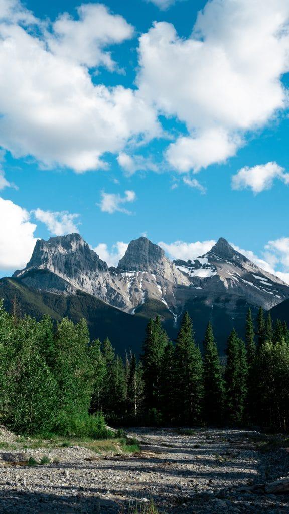 three sister mountains